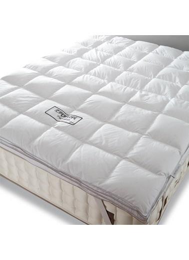 Penelope Piume Pro Kaz Tüyü Uyku Pedi  Çift Kişilik 200x200 Beyaz